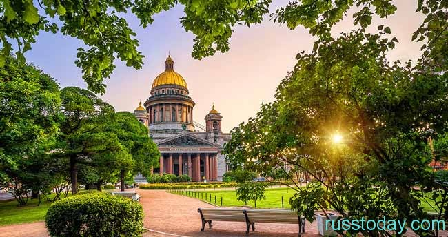 лето 2019 в Санкт-Петербурге