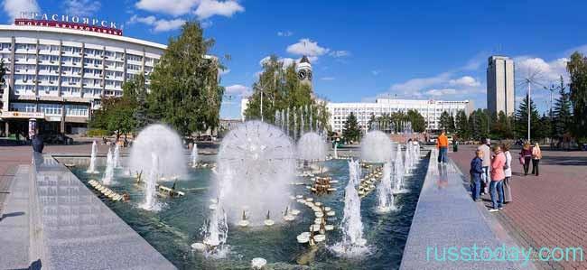 лето 2019 года в Красноярске