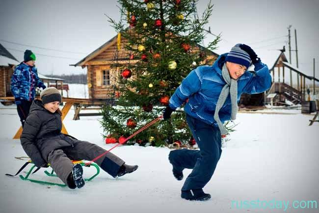 Как жители России будут отдыхать в новогоднее время
