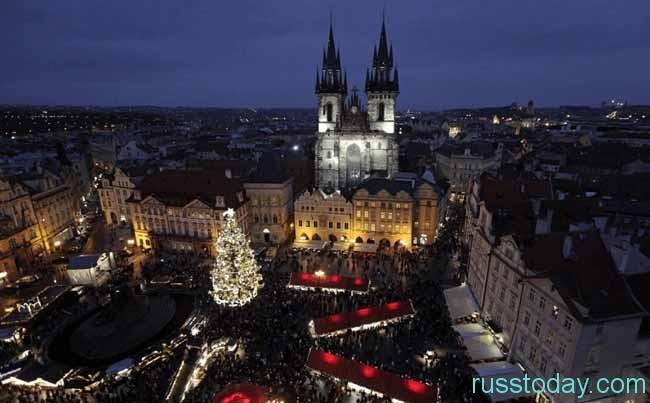 В Праге