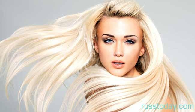 заниматься собственной внешностью рекомендовано только блондинкам