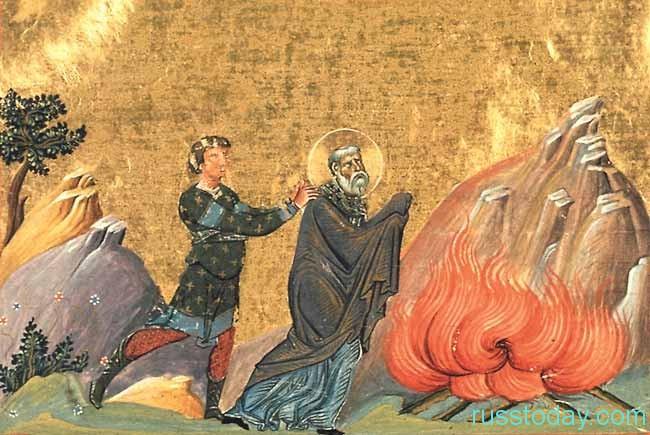 о священномучениках - Поликарпе и епископа церкви Смирнского