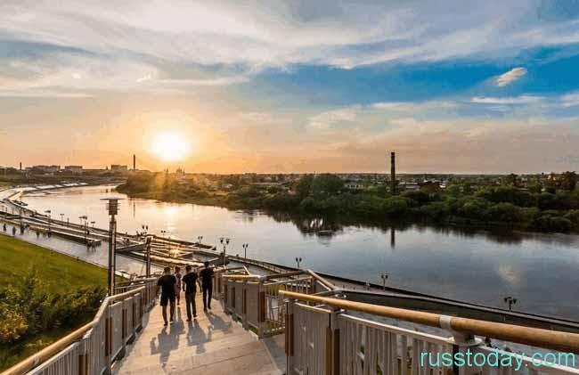 Тюмень является увлекательным местом в Российской Федерации