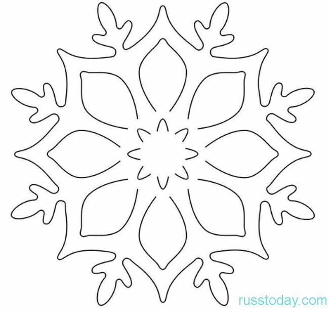 снежинки к Новому 2019 году