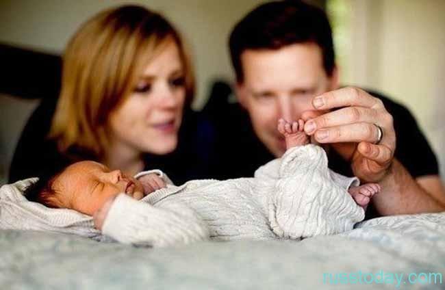 Маленький ребенок – наибольшее счастье для семейных пар