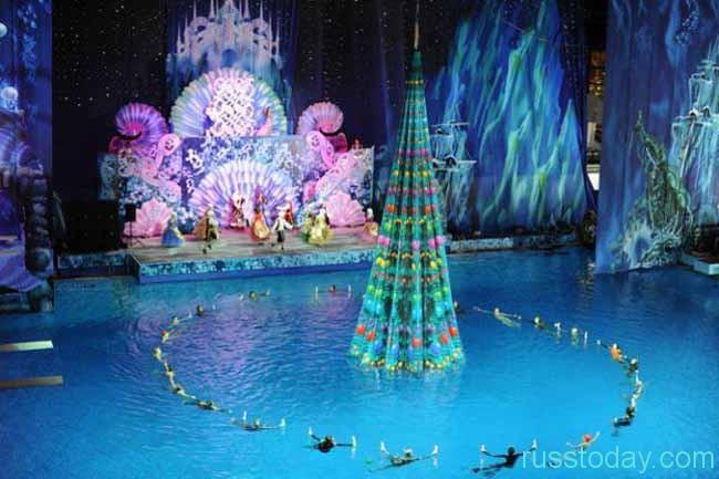 Новогодние представления в Олимпийском для детей