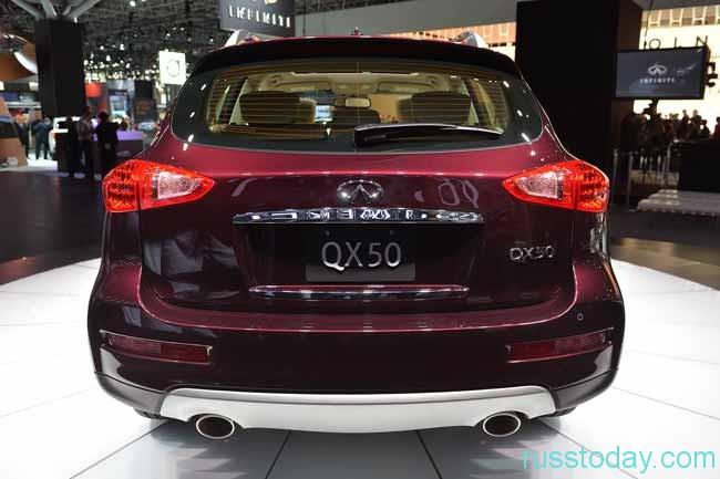 новый QX 50 по своим параметрам рациональнее и красивее 1-ого поколения