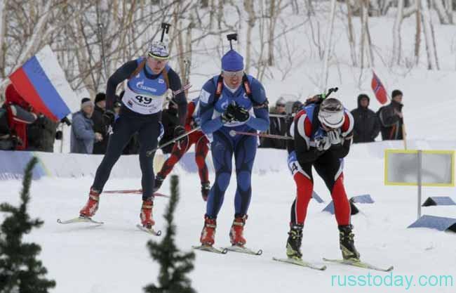 Международные соревнования по биатлону