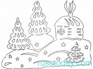 Интересные композиции с елкой