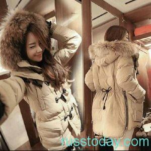 Даже в холодную пору года модницы стараются выглядеть эффектно