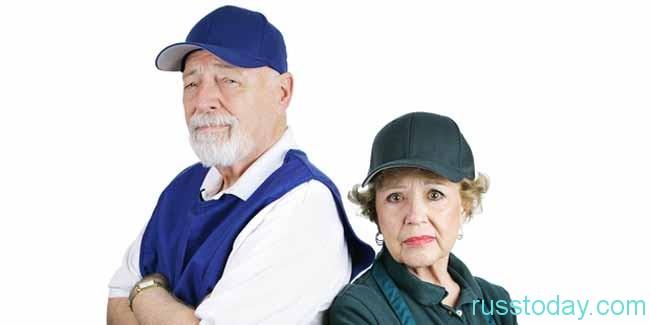 Ситуация с трудоустроенными пенсионерами