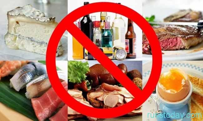 Нельзя злоупотреблять тяжелой пищей