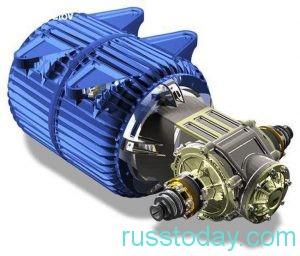 высокий КПД электрического двигателя
