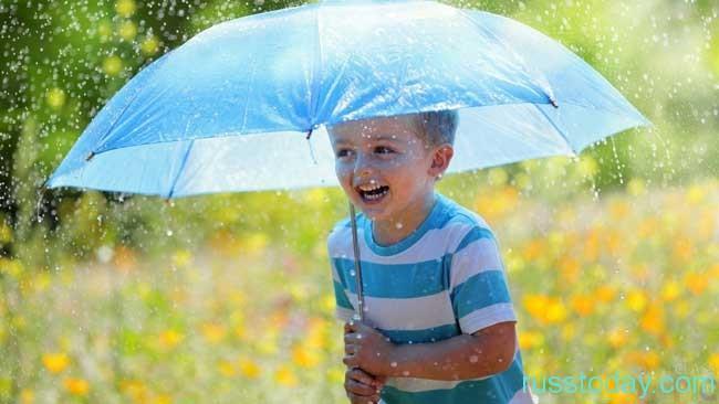 жаркое и дождливое лето