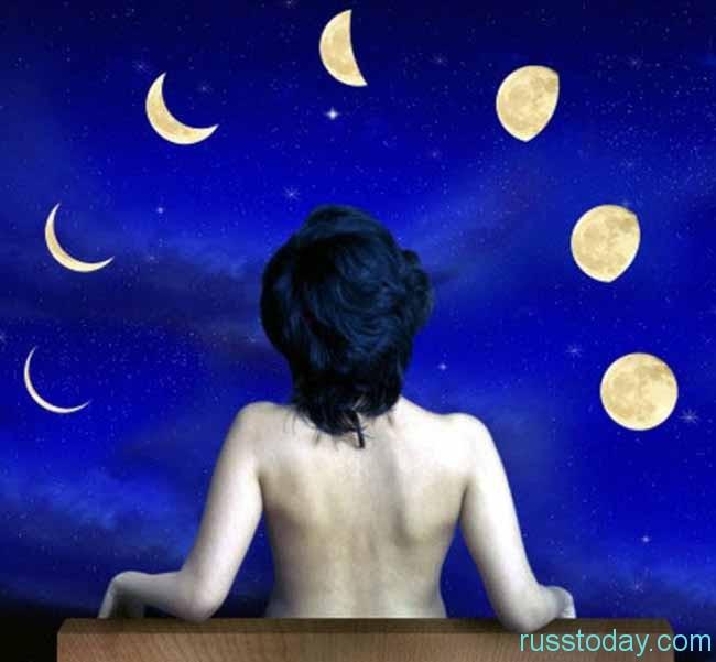 Каждая лунная фаза оказывает различное воздействие на организм и поведение человека