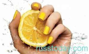 влияние желтого цвета