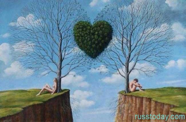 Особенности  любовных отношений