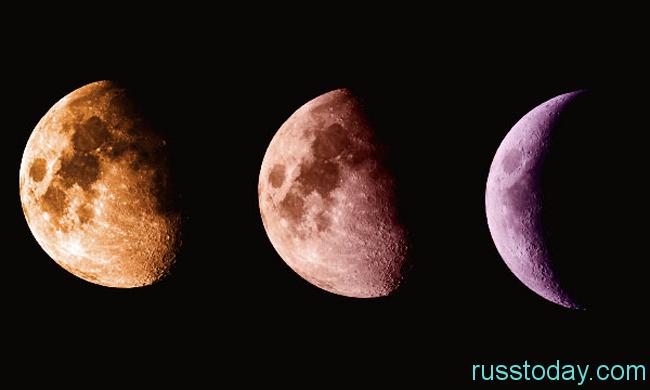 Стадия убывания луны