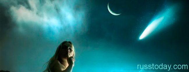 в период правления на небосводе новой луны