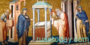 праздник называется Сретением Господним