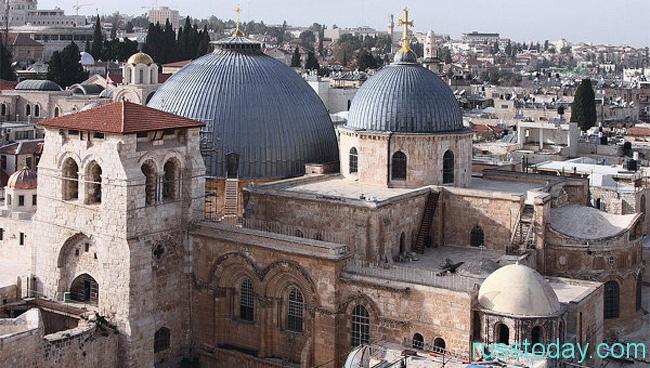 в храме Иерусалима