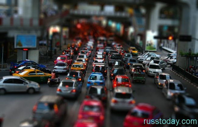 Большое количество автовладельцев