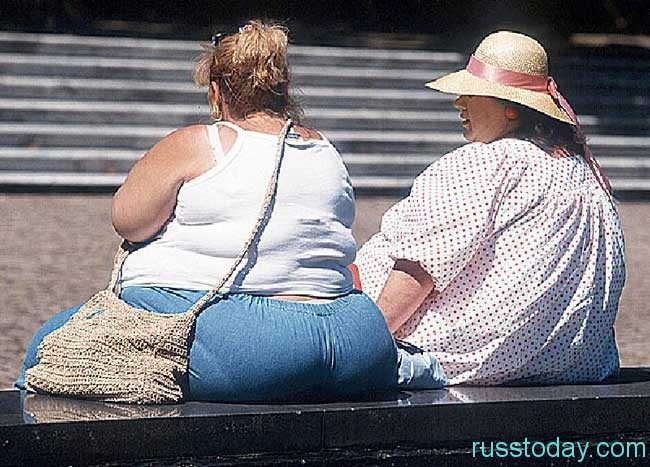 Дамы, которые пытаются бороться с лишним весом
