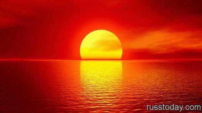 определить по красному закату