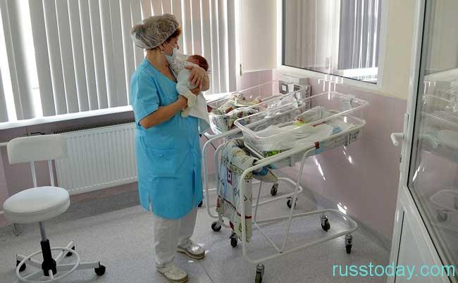 рождаемость в стране