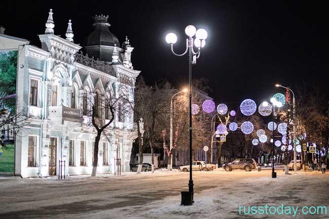 зима на большей территории Краснодара
