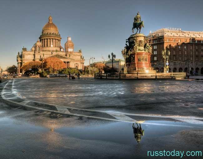 Особенности лета в Петербурге
