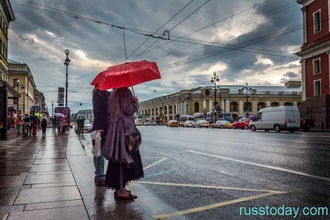 Прогнозируется погода в Санкт-Петербурге на лето