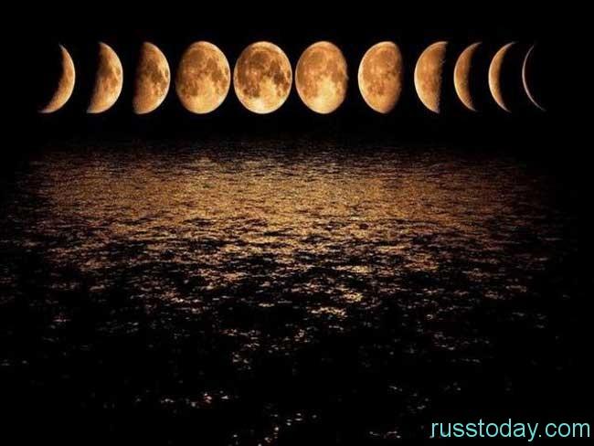 Убывающая стадия луны