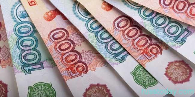 стоимость российского рубля постепенно снижается
