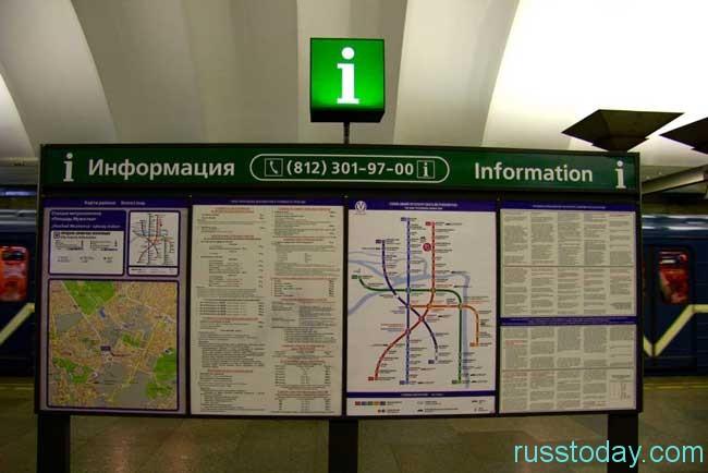 стоимость метро в Санкт-Петербурге