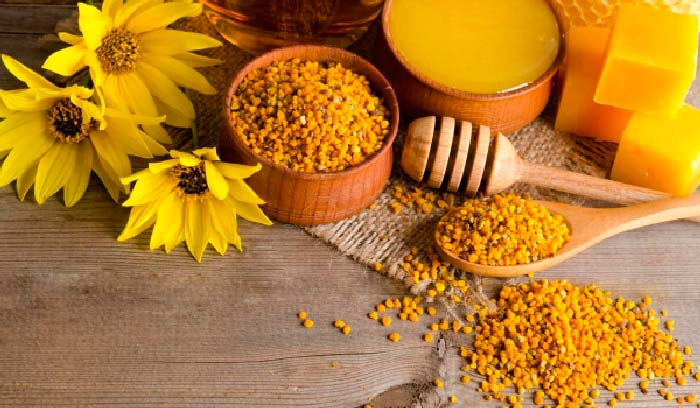 мед и пыльца