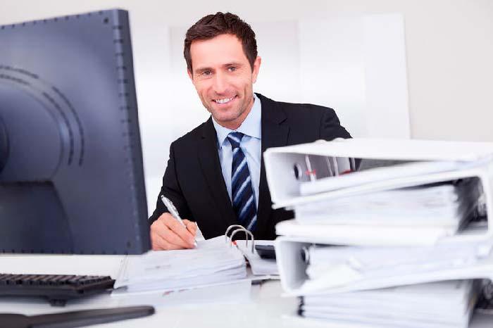 люди, занятые в бухгалтерии