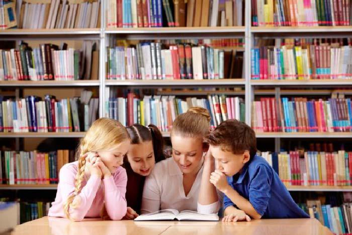 библиотека и дети