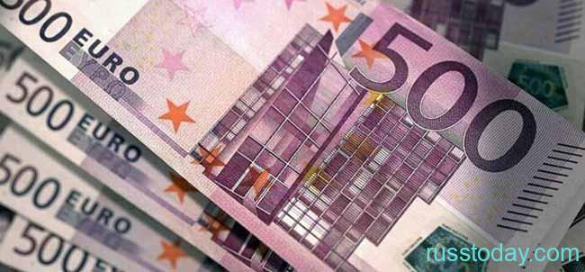 500 купюры евро