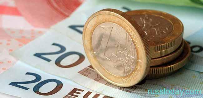 Бумажные и монетные евро