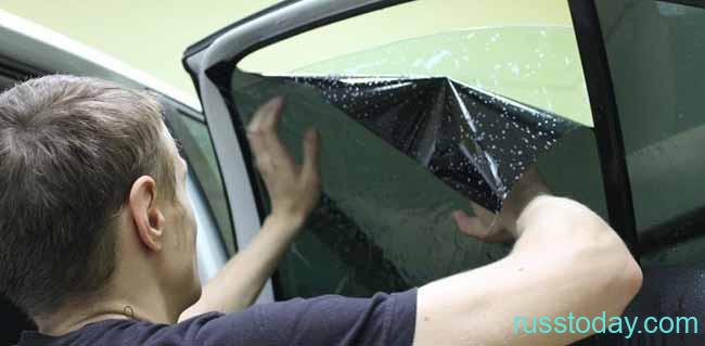Установка тонировки на автомобиль