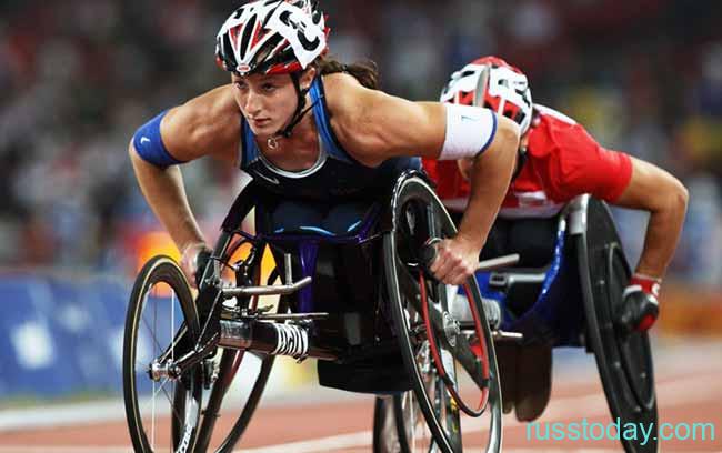 Инвалиды колясочники на параолимпийских играх