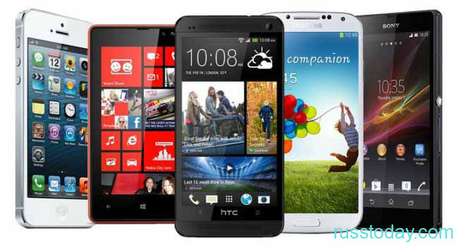 разнообразие мобильных смартфонов