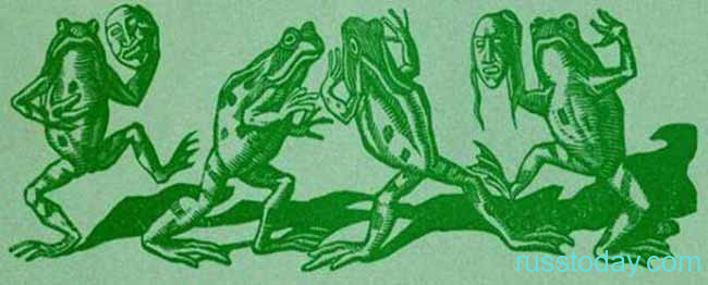 Картинка лягушки