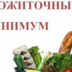 Прожиточный минимум в Московской области в 2020 году