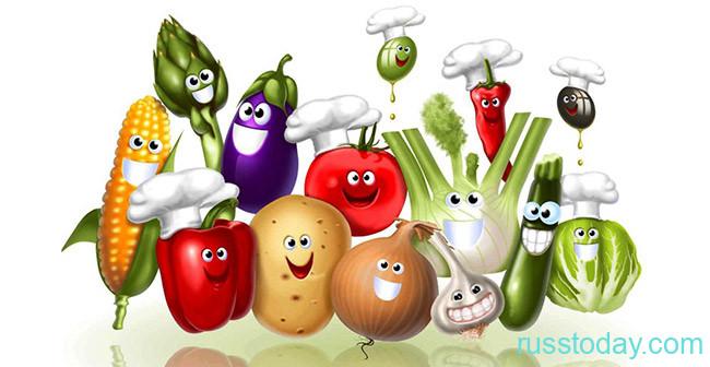 Овощи огородные