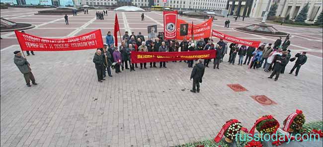 День Октябрьской революции в Беларуси
