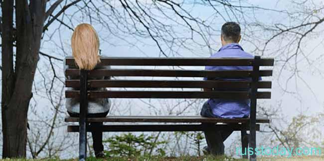 Пара в разводе