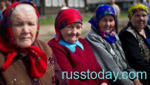 Сельские пенсионеры в РФ в 2021 году