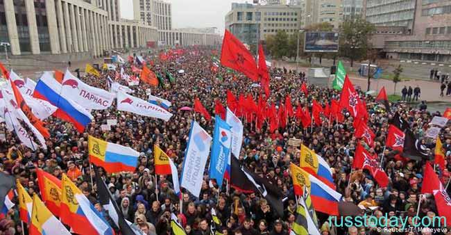 Возможные бунты и протесты в России